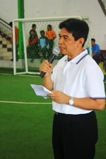Gbr 2. Sambutan Wakil Gubernur pada Pembukaan Pertandingan Futsal Persahabatan