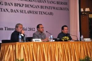 Gambar 4. Presentasi dari BPKP dan Kejaksaan Agung