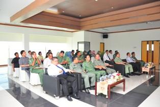 Gambar 3. Tamu undangan baik dari pejabat struktural di lingkungan Pemkot Bontang maupun pejabat struktural BPK
