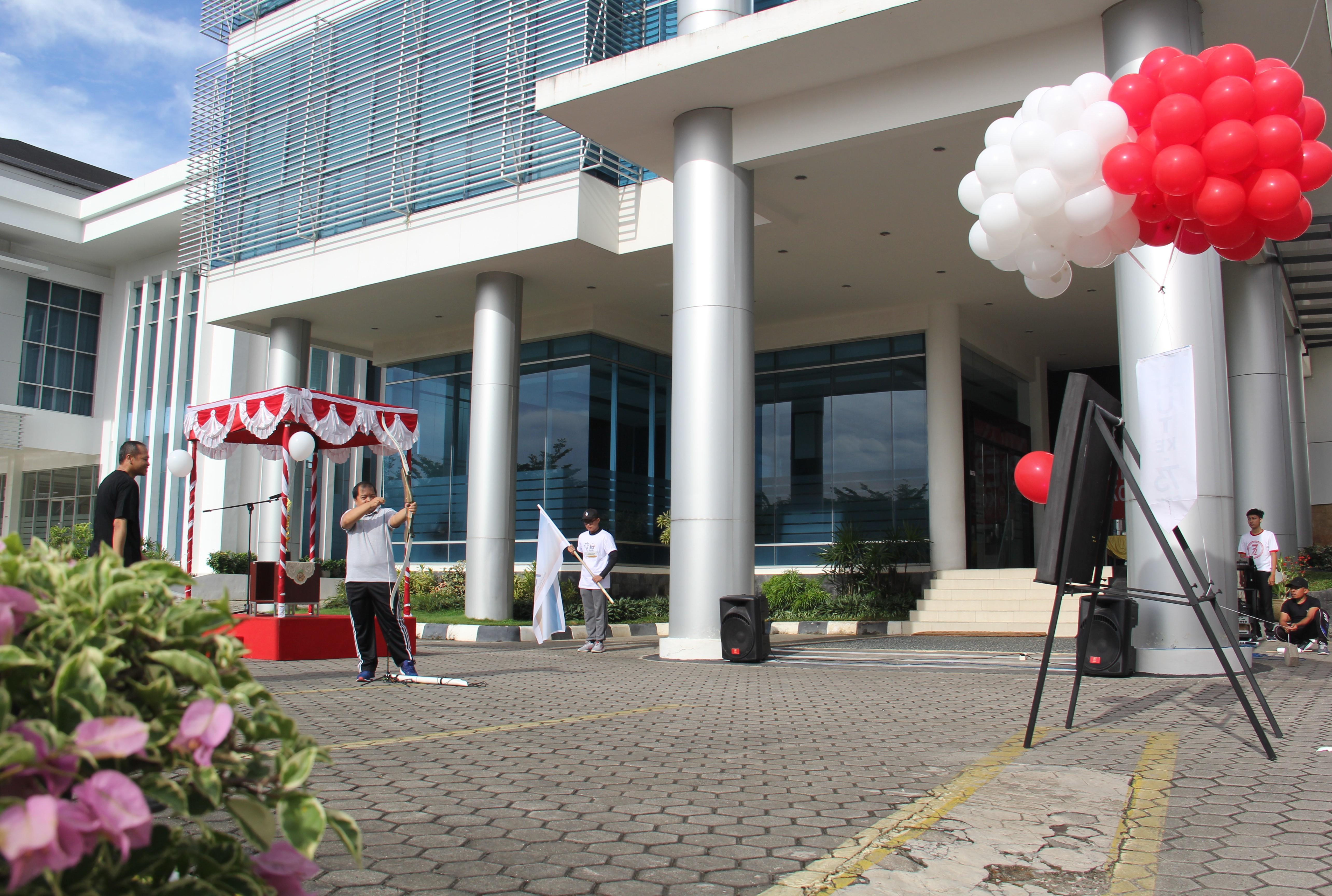 Upacara Pembukaan Pekan Olahraga dan Seni dalam rangka HUT ke-73 BPK RI di Perwakilan Provinsi Kalimantan Timur
